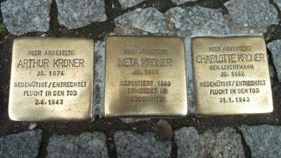 Stolpersteine Berlijn