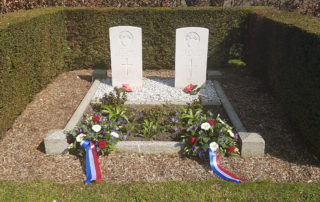 Graven Engelse Soldaten