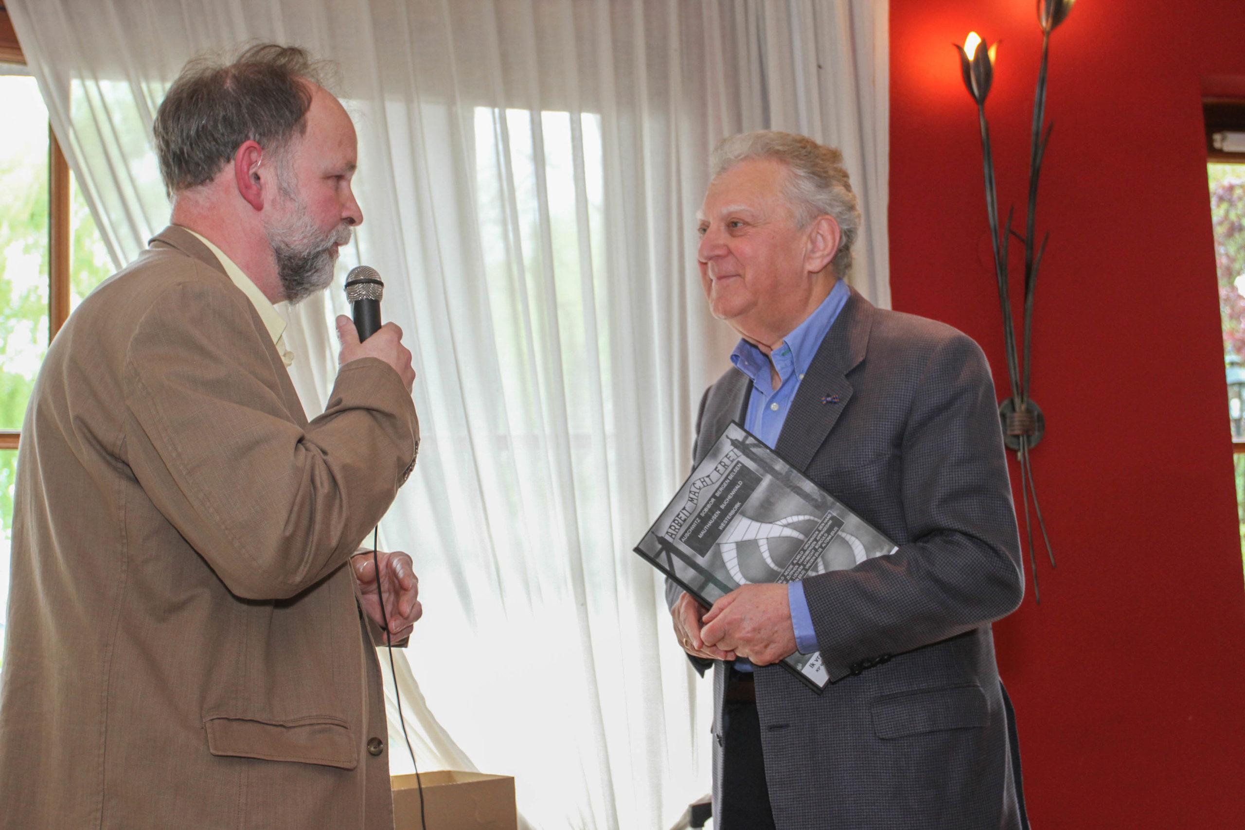 Prof. Heertje in 2014