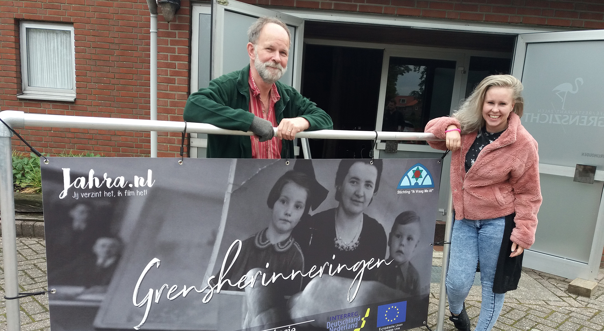 "Documentaire Grensherinneringen - Jahra Esser & Stichting ""Ik Vraag Me Af"""