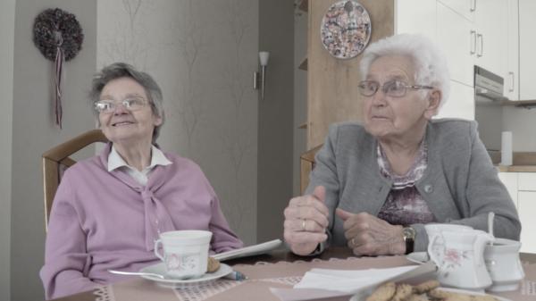 Documentaire Grensherinneringen - Mevr. Severt & Mevr. Winkelhaus